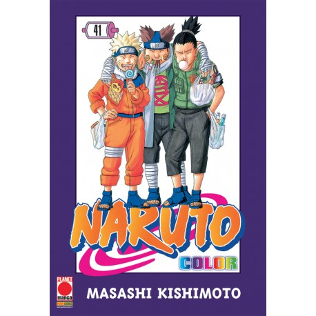 NARUTO COLOR n. 41