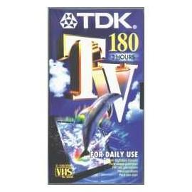 Tdk Videocass Vhs Tv 180 Minuti T14562