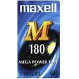 Maxell E 180 M Video cassette - Confezione da 1