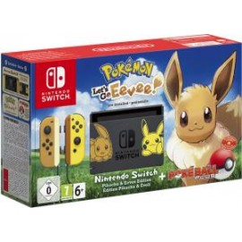CONSOLE +POKEMON LET'S GO EEVEE + POKEBALL NINTENDO SWITCH