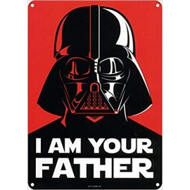 TIN SIGN I AM YOUR FATHER HALF MOON BAY