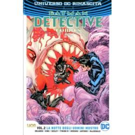 BATMAN DETECTIVE COMICS tp NOTTE DEGLI UOMINI MOSTRO n. 2
