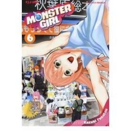 MONSTER GIRL DI KAZUKI FUNATSU n. 6