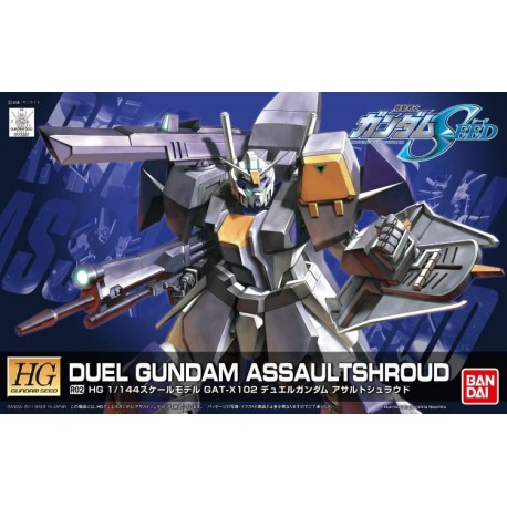 GUNDAM R02 Duel Gundam Remaster 1/144 HG BANDAI