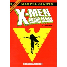 MARVEL GIANTS X MEN GRAND DESIGN DI ED PISKOR SECONDA GENESI n. 2