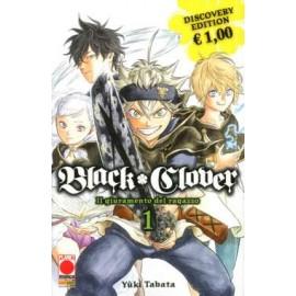 BLACK CLOVER GIURAMENTO DEL RAGAZZO DI YUKI TABATA DISCOVERY EDITION n. 1