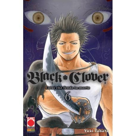 BLACK CLOVER GIURAMENTO DEL RAGAZZO DI YUKI TABATA RISTAMPA n. 6