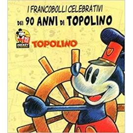 FRANCOBOLLI CELEBRATIVI DEI 90 ANNI DI TOPOLINO n. 1