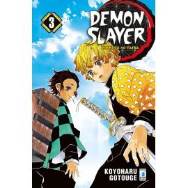 DEMON SLAYER KIMETSU NO YAIBA DI KOYOHARU GOTOUGE n. 3