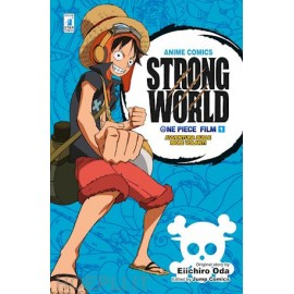 ONE PIECE ANIME COMICS STRONG WORLD n. 1