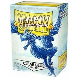 BUSTINE PROTEGGI CARD MAGIC 100 PEZZI clear blue classic DRAGON SHIELD