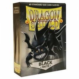 BUSTINE PROTEGGI CARD MAGIC 60 pezzi nero matte DRAGON SHIELD