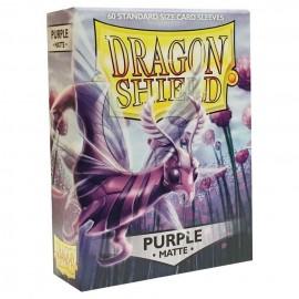 BUSTINE PROTEGGI CARD MAGIC 60 pezzi purple matte DRAGON SHIELD