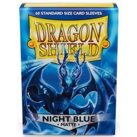 BUSTINE PROTEGGI CARD MAGIC 60 pezzi night blu matte DRAGON SHIELD