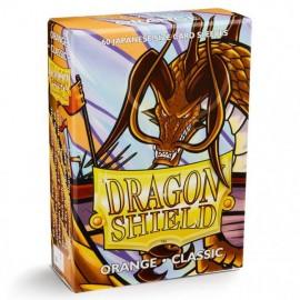 BUSTE PROTEGGI CARD YUGIOH 60 PEZZI orange classic DRAGON SHIELD