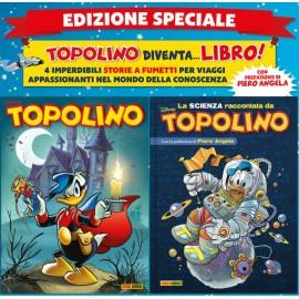 TOPOLINO + LA SCIENZA RACCONTATA DA TOPOLINO CON PIERO ANGELA n. 3332