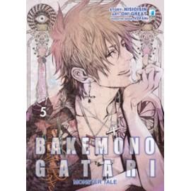 BAKEMONO GATARI DI NISIOISIN E OH GREAT n. 5