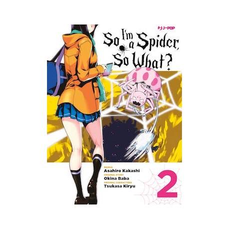 SO I'M A SPIDER, SO WHAT? di asahiro kakasi n. 2