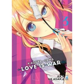 KAGUYA SAMA LOVE IS WAR DI AKA AKASAKA n. 3