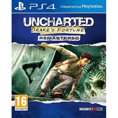 USATO Uncharted: Drake's Fortune REMASTERED PS4 USATO