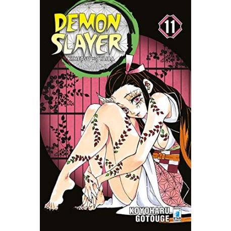 DEMON SLAYER KIMETSU NO YAIBA DI KOYOHARU GOTOUGE n. 11
