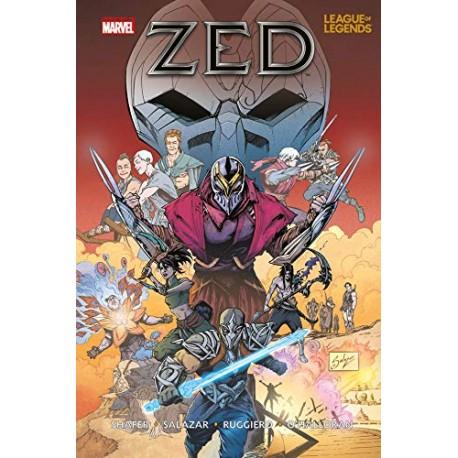 LEAGUE OF LEGENDS ZED n. 1
