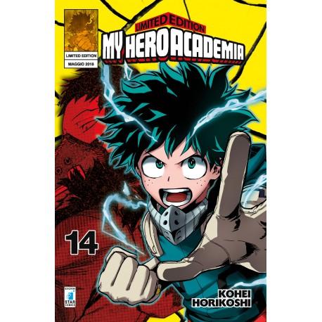MY HERO ACADEMIA DI MASASHI KISIMOTO VARIANT n. 14